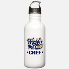 Worlds Best Chef Water Bottle