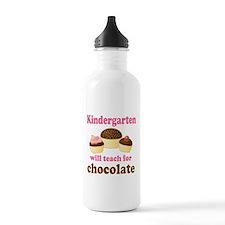 Funny Kindergarten Sports Water Bottle