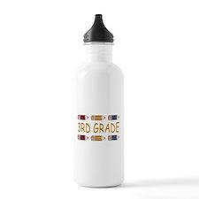 Fun 3rd Grade Sports Water Bottle