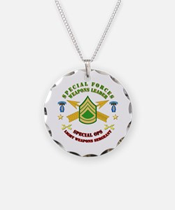 SOF - SF Lt Weapons Leader Necklace