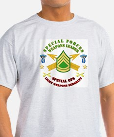 SOF - SF Lt Weapons Leader T-Shirt
