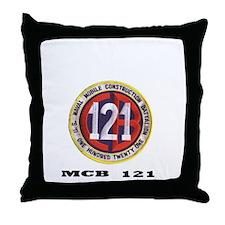 MCB 121 Association Throw Pillow