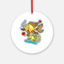 New Baby fish Ornament (Round)