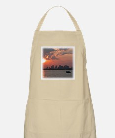 Sunset Skyline BBQ Apron