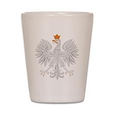 Polish White Eagle Shot Glass