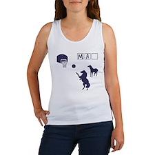 Game of HORSE Human Man Shirt Women's Tank Top