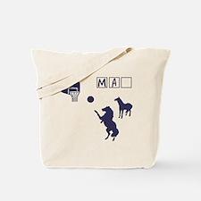 Game of HORSE Human Man Shirt Tote Bag