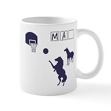 Game of HORSE Human Man Shirt Small Small Mug