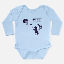 Game of HORSE Human Man Shirt Long Sleeve Infant B