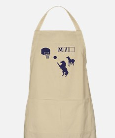 Game of HORSE Human Man Shirt Apron