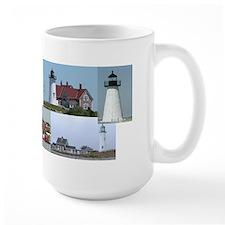Massachusetts Lighthouses Mug
