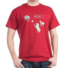 Game of HORSE Human Man Shirt T-Shirt