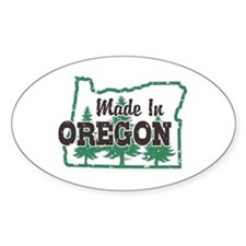 Made In Oregon Stickers