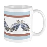 Snowy owl Small Mugs (11 oz)