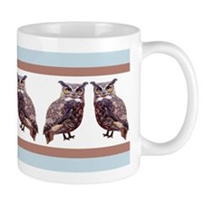 Little Tuffed Ear Owls Mug