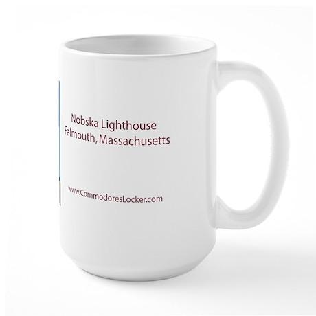 Nobska Lighthouse Large Mug