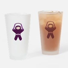 Nunchuck Ninja! Pint Glass