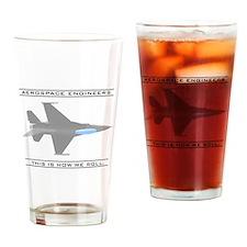 Aero Engineers: How We Roll Pint Glass