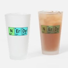 Periodic Nerd Pint Glass