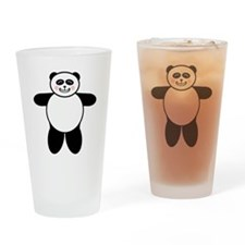 Panda Pint Glass