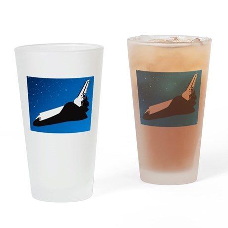High Flight Pint Glass
