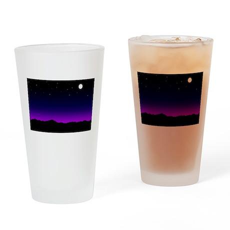 Desert Night Pint Glass