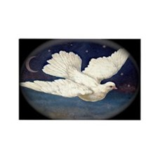 Dove of Peace Rectangle Magnet