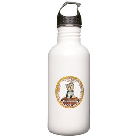 Yorkie Significant Other Stainless Water Bottle 1.