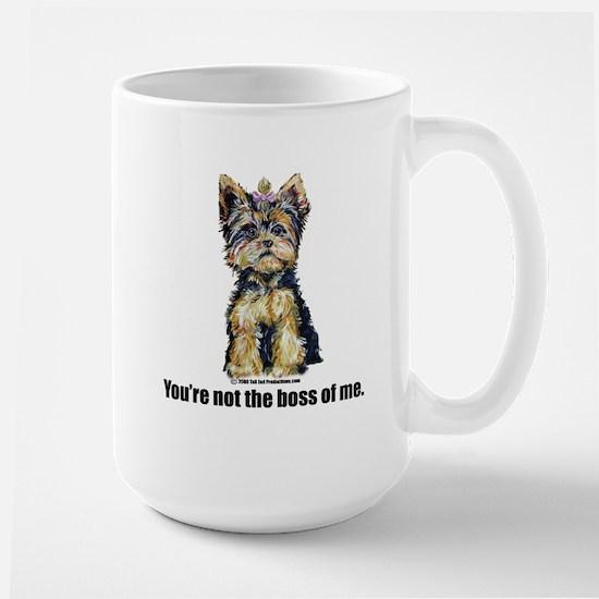 Yorkshire Terrier - Yorkie Bo Large Mug