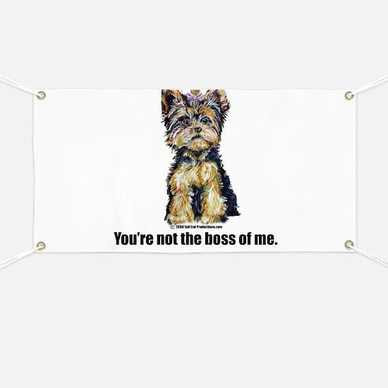 Yorkshire Terrier - Yorkie Bo Banner