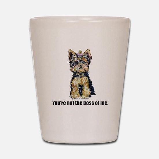 Yorkshire Terrier - Yorkie Bo Shot Glass