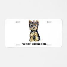 Yorkshire Terrier - Yorkie Bo Aluminum License Pla