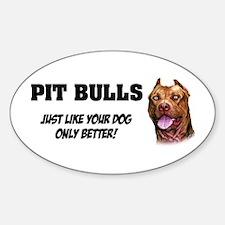 Pit Bulls Decal
