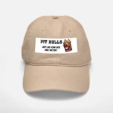 Pit Bulls Baseball Baseball Cap