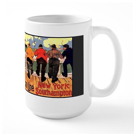 Americam Liners Large Mug