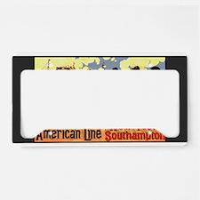 Americam Liners License Plate Holder