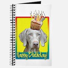 Birthday Cupcake - Weimie Journal