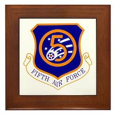 Fifth Air Force Framed Tile
