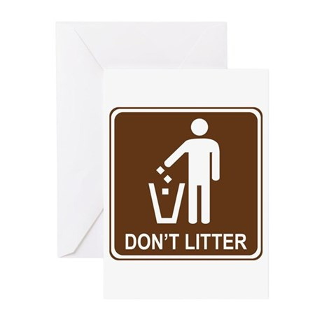 Don't Litter Greeting Cards (Pk of 20)