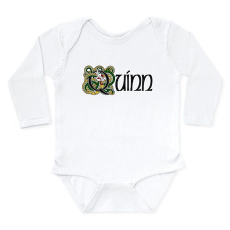 Quinn Celtic Dragon Long Sleeve Infant Bodysuit