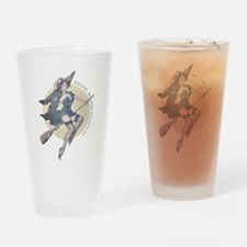 Vintage Salem Witch Drinking Glass