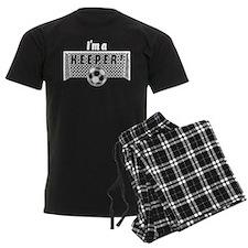 I'm a Keeper Soccer Goal Keep Pajamas