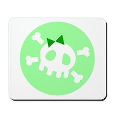 Green Skull Mousepad