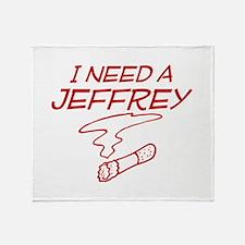 Cute Jeffrey Throw Blanket