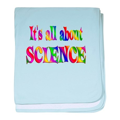 About Science baby blanket