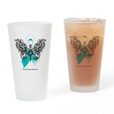 Cervical Cancer Tribal Pint Glass
