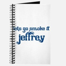 Cute Jeffrey Journal