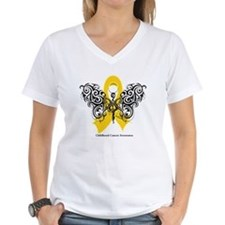 Childhood Cancer Tribal Shirt