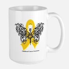 Childhood Cancer Tribal Mug