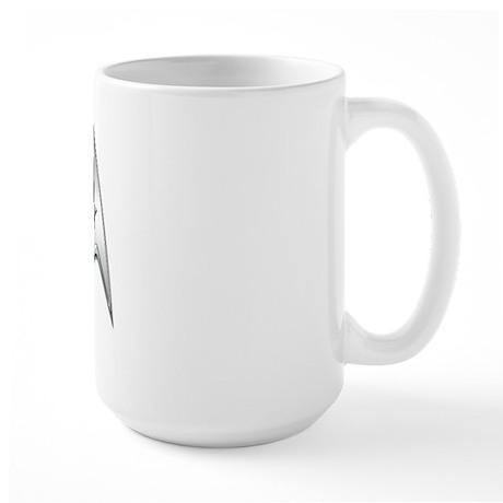 StarTrek Command Silver Signi Large Mug